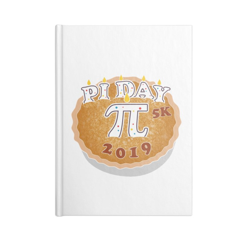 Pi Day 5K Accessories Notebook by moonjoggers's Artist Shop