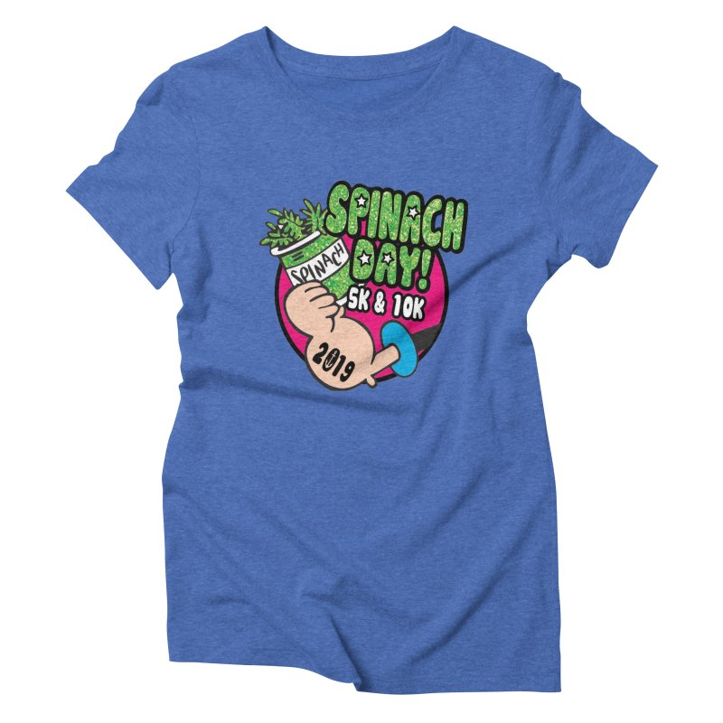Spinach Day 5K & 10K Women's Triblend T-Shirt by moonjoggers's Artist Shop