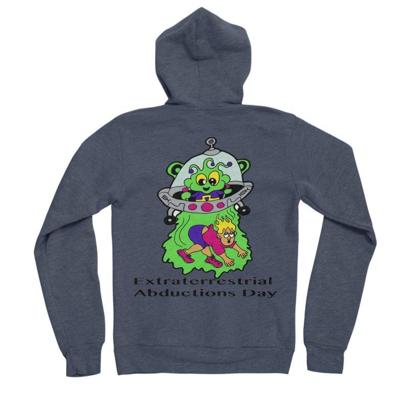 Extraterrestrial Abductions Day 5K & 10K Women's Sponge Fleece Zip-Up Hoody by moonjoggers's Artist Shop
