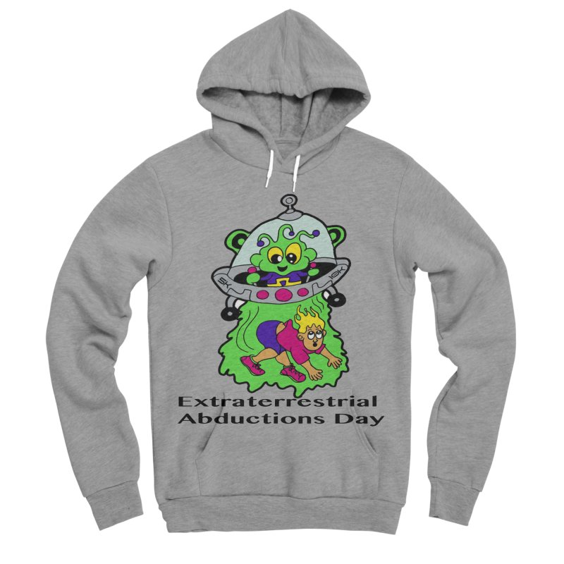 Extraterrestrial Abductions Day 5K & 10K Women's Sponge Fleece Pullover Hoody by moonjoggers's Artist Shop