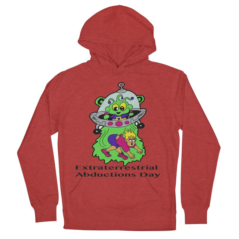 Extraterrestrial Abductions Day 5K & 10K Men's French Terry Pullover Hoody by moonjoggers's Artist Shop