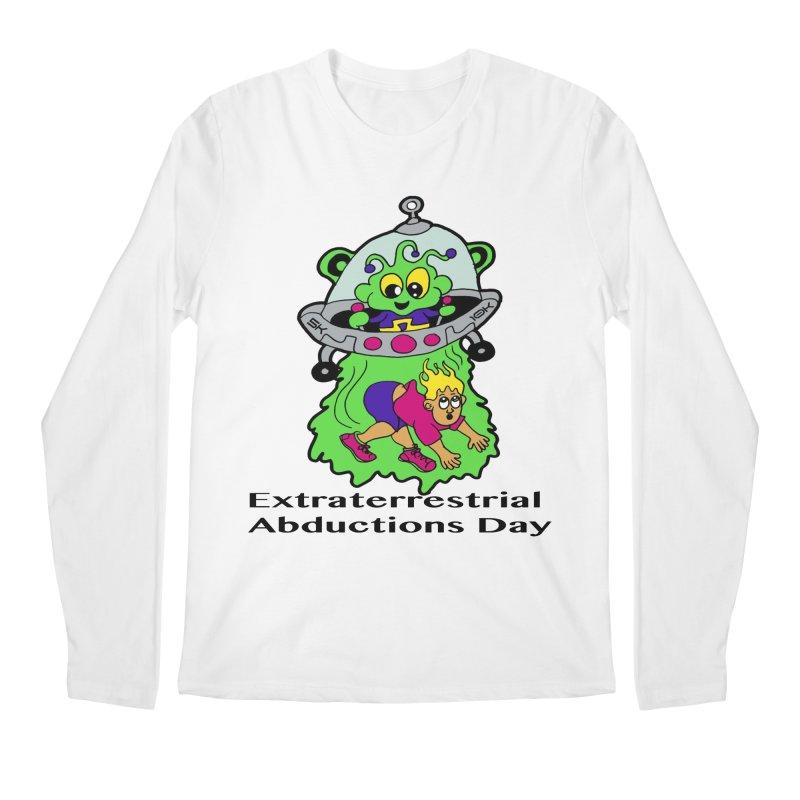 Extraterrestrial Abductions Day 5K & 10K Men's Regular Longsleeve T-Shirt by moonjoggers's Artist Shop