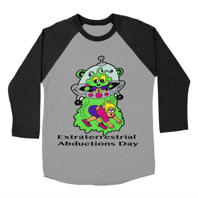 Extraterrestrial Abductions Day 5K & 10K Women's Baseball Triblend Longsleeve T-Shirt by moonjoggers's Artist Shop