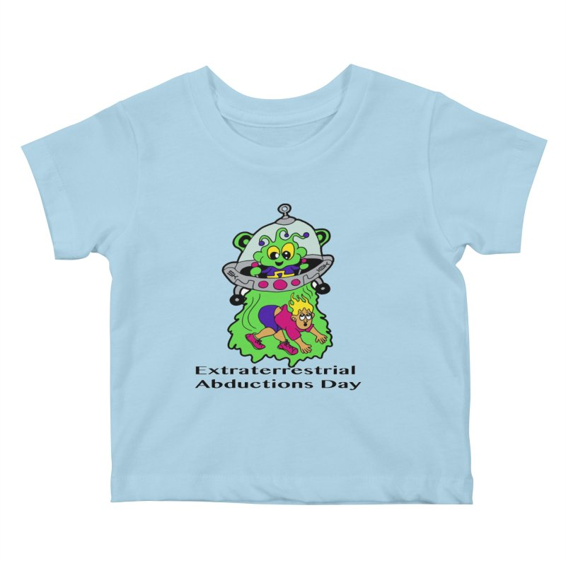 Extraterrestrial Abductions Day 5K & 10K Kids Baby T-Shirt by moonjoggers's Artist Shop
