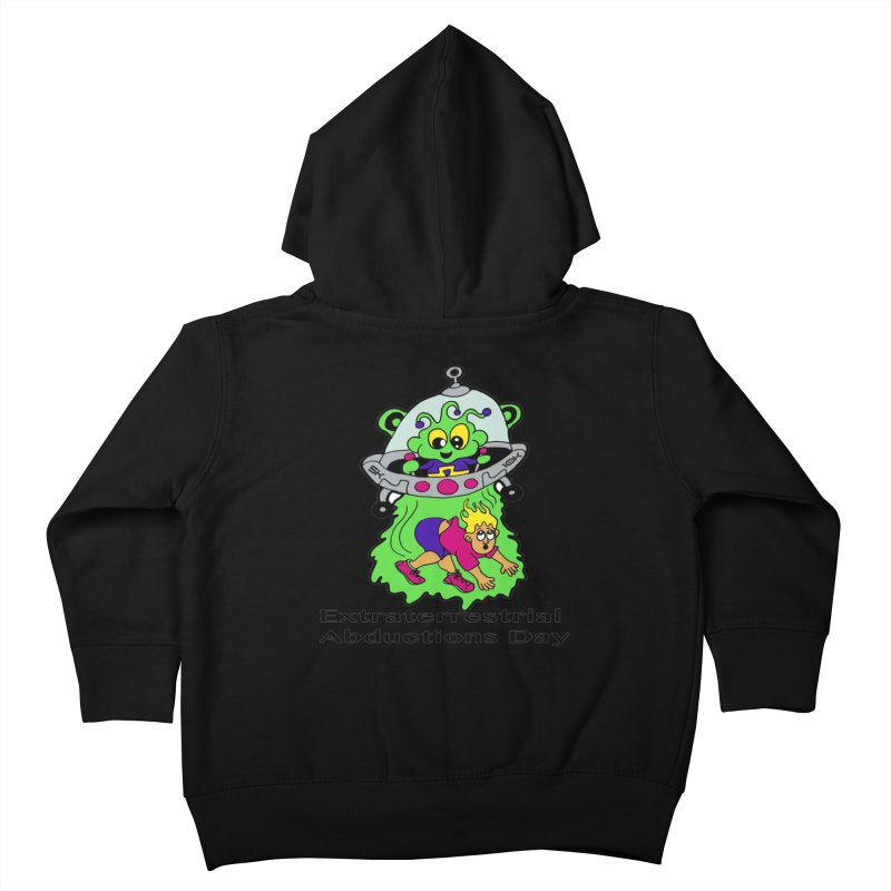 Extraterrestrial Abductions Day 5K & 10K Kids Toddler Zip-Up Hoody by moonjoggers's Artist Shop