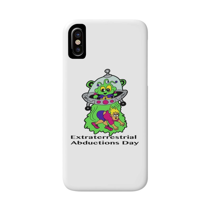 Extraterrestrial Abductions Day 5K & 10K Accessories Phone Case by moonjoggers's Artist Shop