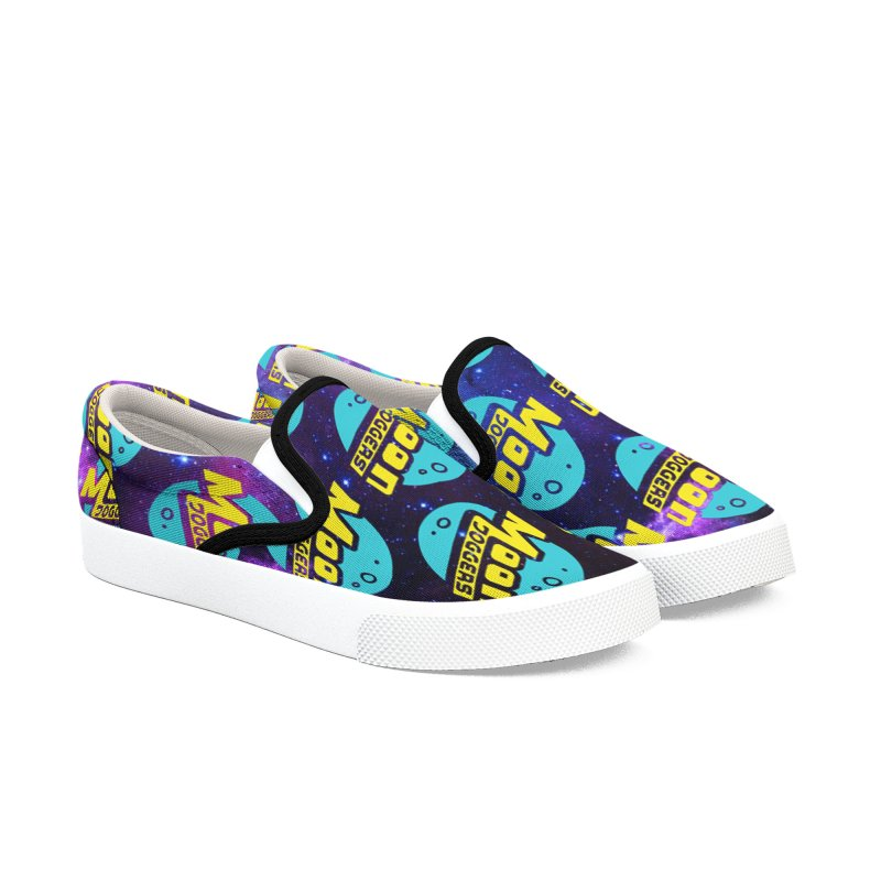 Moon Joggers New Logo Men's Slip-On Shoes by Moon Joggers's Artist Shop