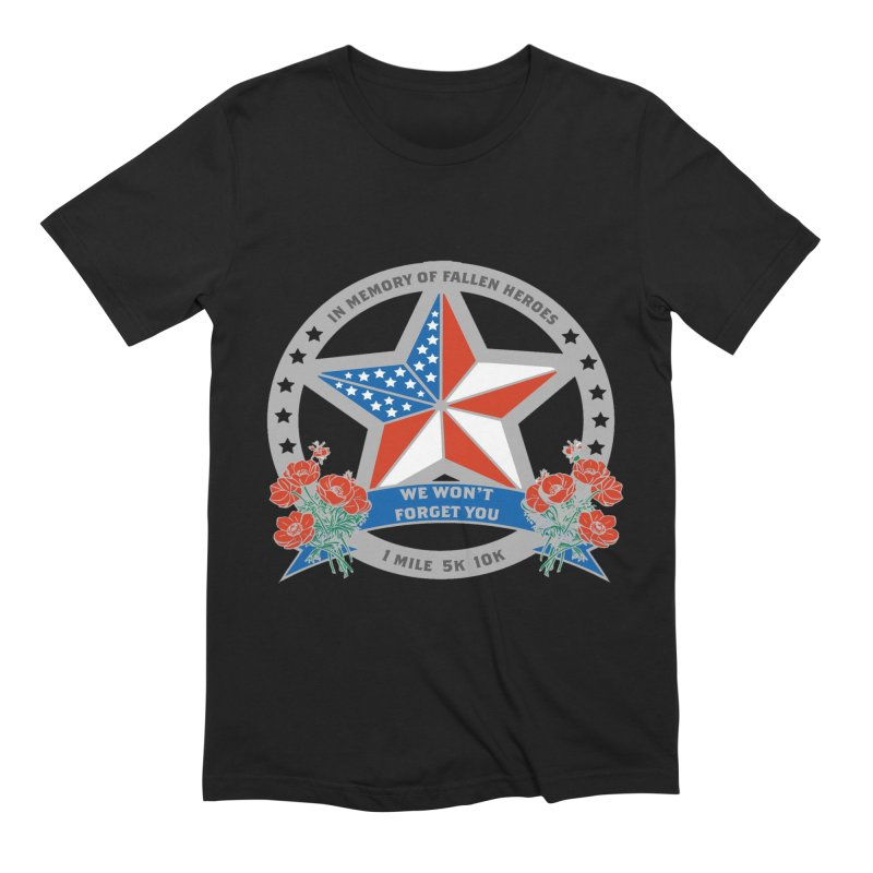 Memorial Day 1 Mile, 5K, 10K Men's T-Shirt by Moon Joggers's Artist Shop