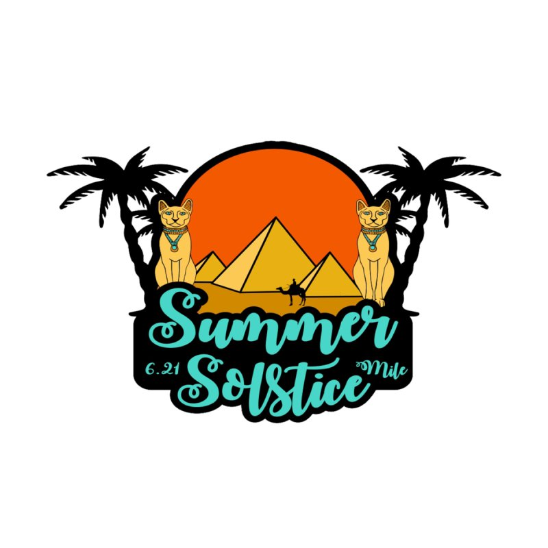 Summer Solstice 6.21 Mile Women's T-Shirt by Moon Joggers's Artist Shop