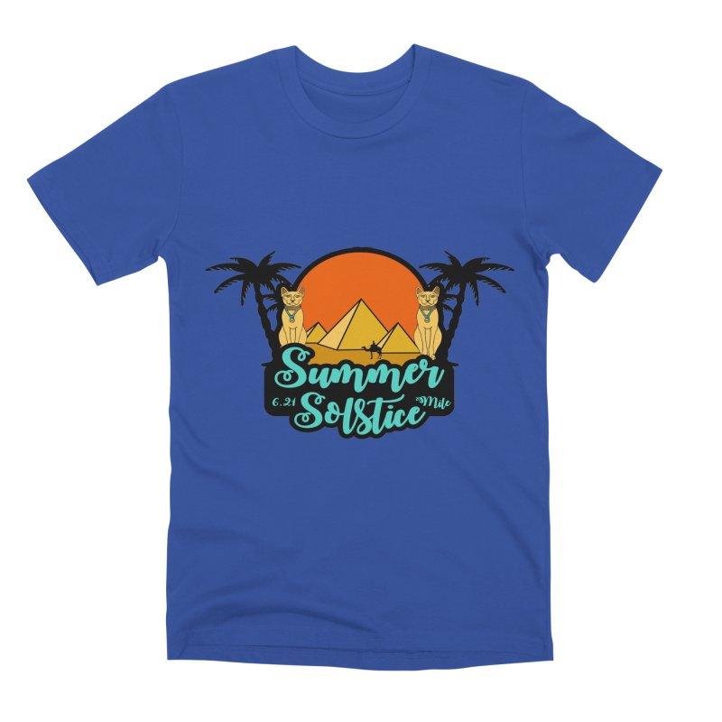 Summer Solstice 6.21 Mile Men's Premium T-Shirt by moonjoggers's Artist Shop