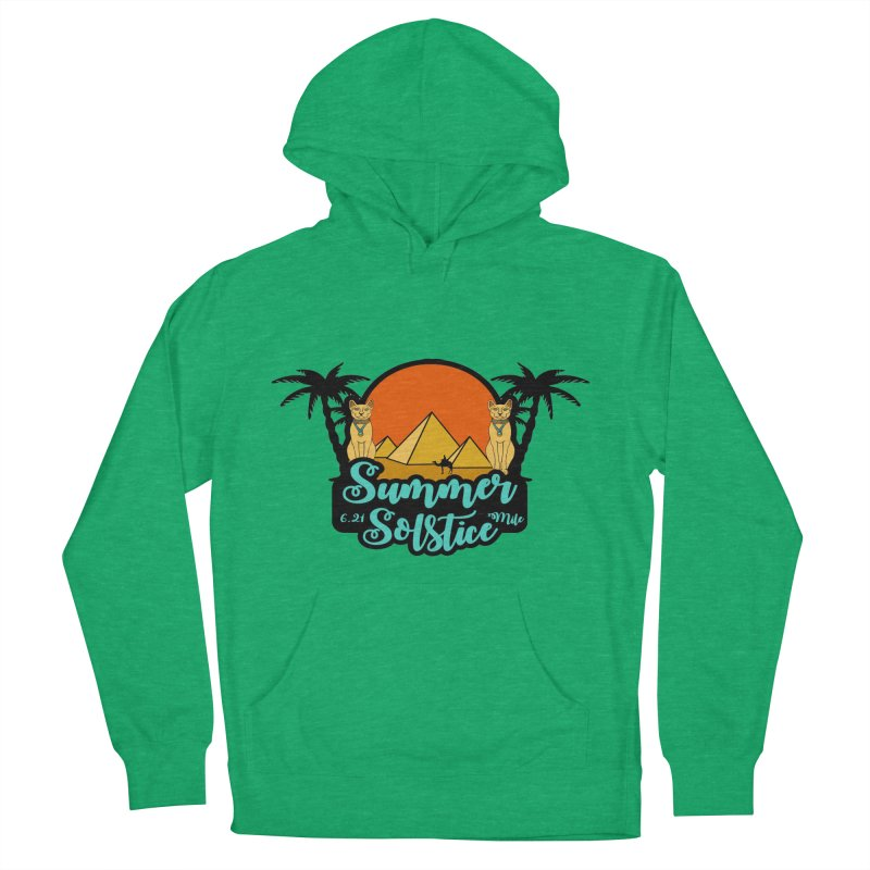 Summer Solstice 6.21 Mile Men's French Terry Pullover Hoody by moonjoggers's Artist Shop