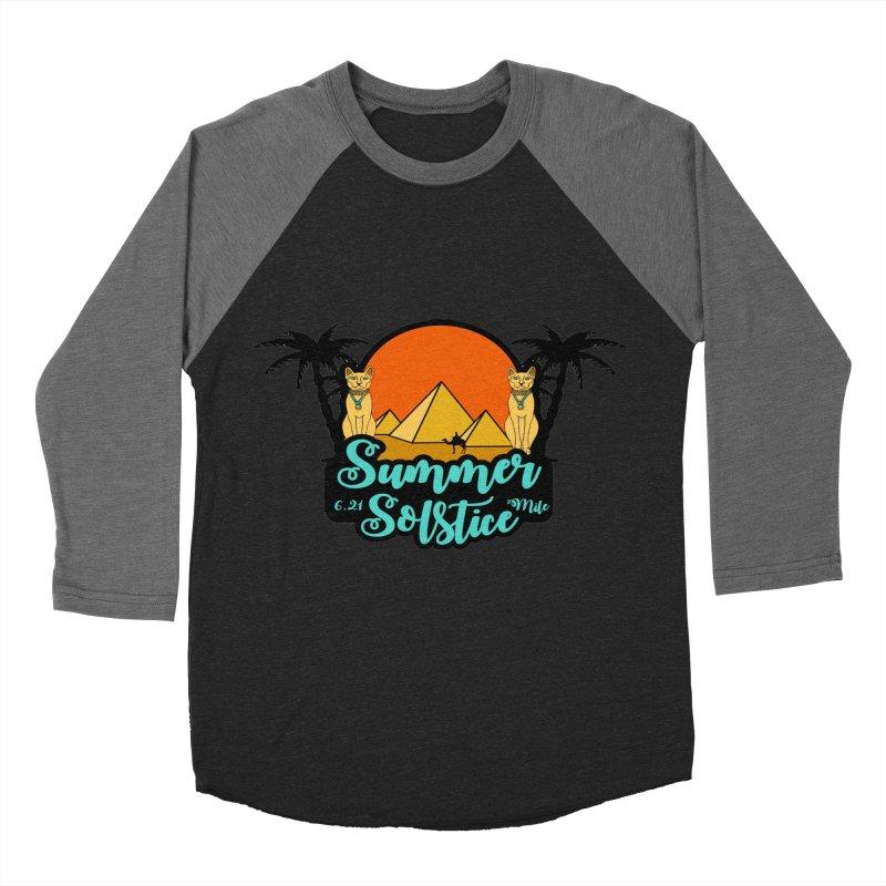 Summer Solstice 6.21 Mile Women's Baseball Triblend Longsleeve T-Shirt by moonjoggers's Artist Shop