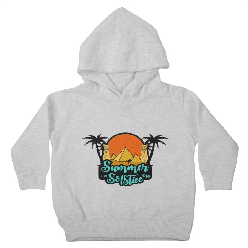 Summer Solstice 6.21 Mile Kids Toddler Pullover Hoody by moonjoggers's Artist Shop