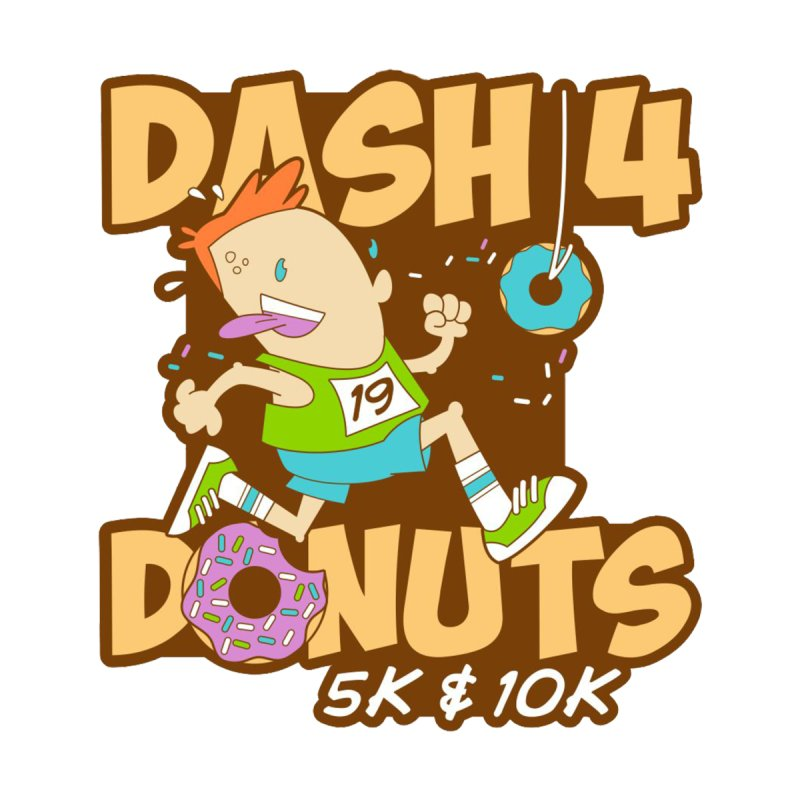 Dash 4 the Donuts 5K & 10K by moonjoggers's Artist Shop