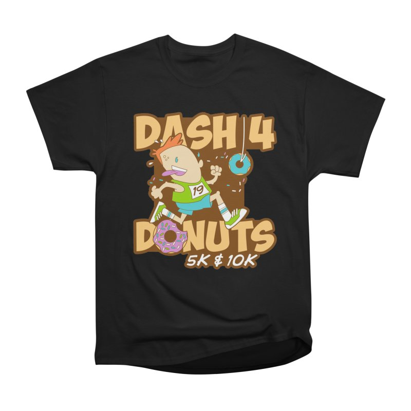Dash 4 the Donuts 5K & 10K Men's Heavyweight T-Shirt by moonjoggers's Artist Shop