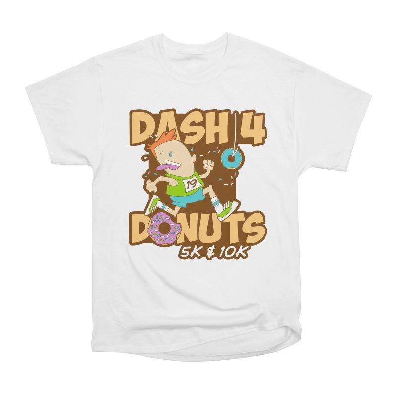Dash 4 the Donuts 5K & 10K Women's Heavyweight Unisex T-Shirt by moonjoggers's Artist Shop