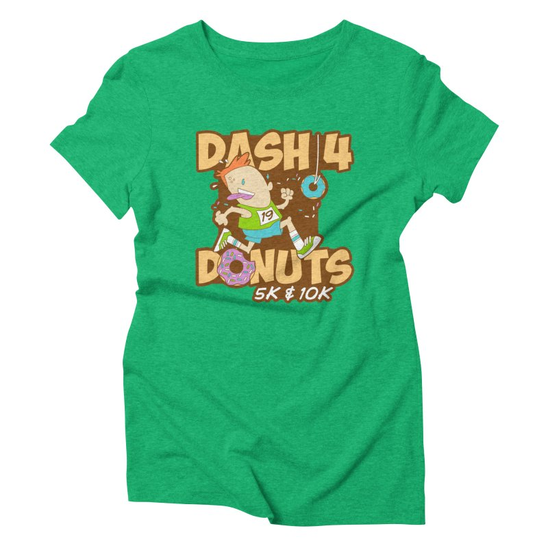 Dash 4 the Donuts 5K & 10K Women's Triblend T-Shirt by moonjoggers's Artist Shop