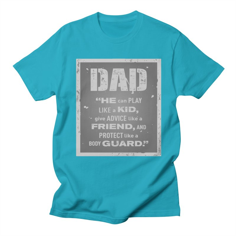 Father's Day Women's Regular Unisex T-Shirt by moonjoggers's Artist Shop