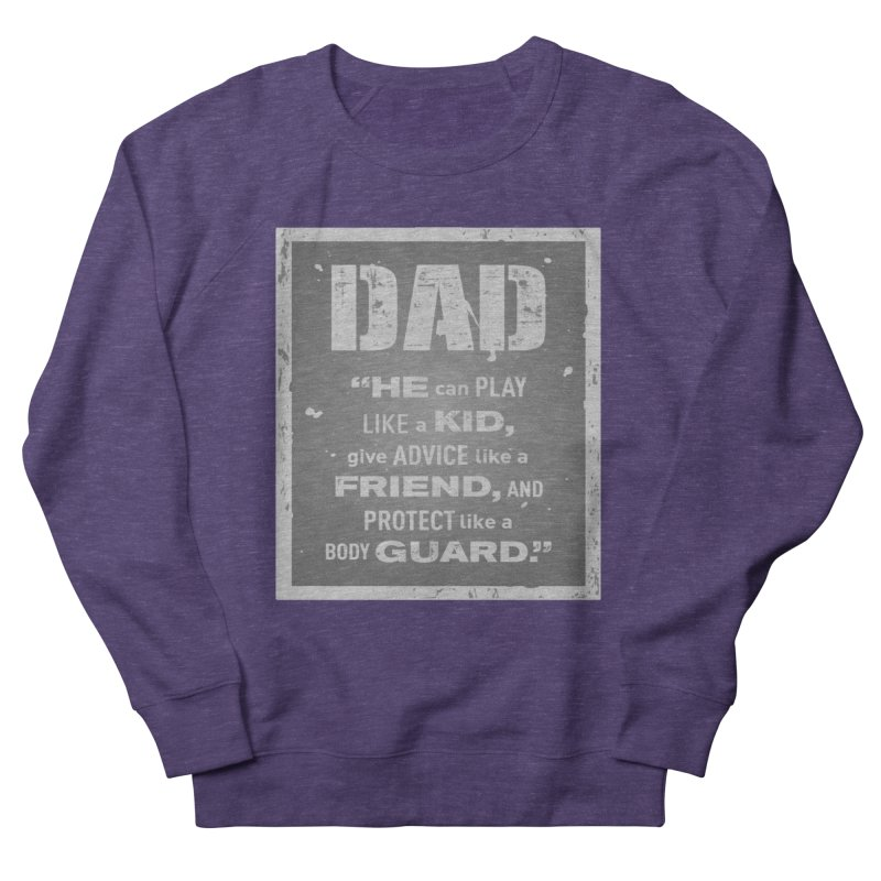 Father's Day Men's French Terry Sweatshirt by moonjoggers's Artist Shop