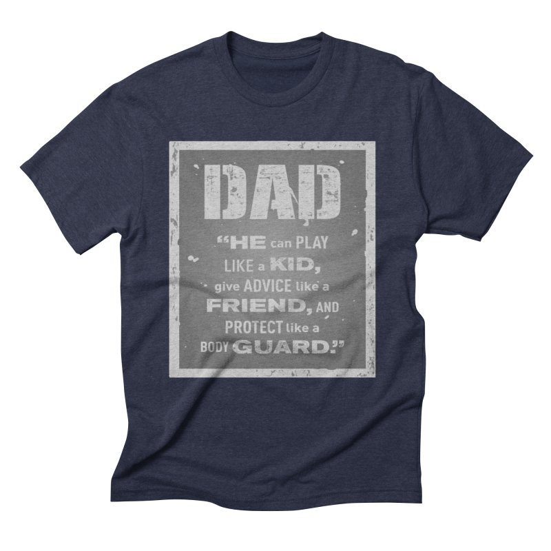 Father's Day Men's Triblend T-Shirt by moonjoggers's Artist Shop