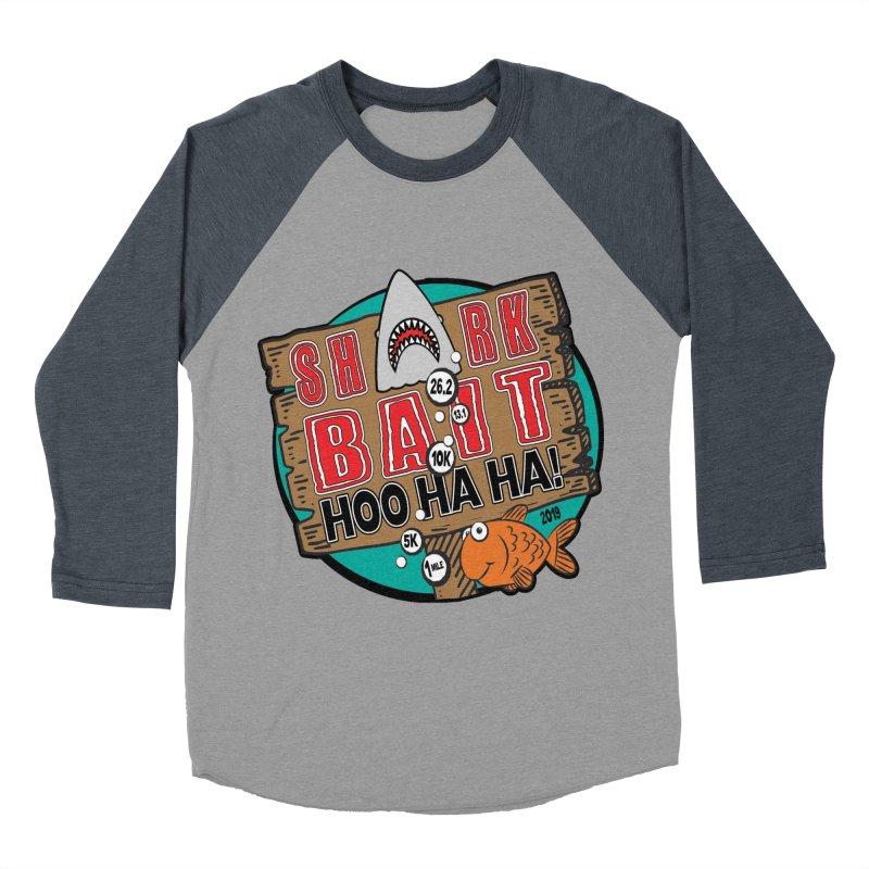 Shark Bait Hoo Ha Ha 1 Mile, 5K, 10K, 13.1, 26.2 Women's Baseball Triblend Longsleeve T-Shirt by moonjoggers's Artist Shop