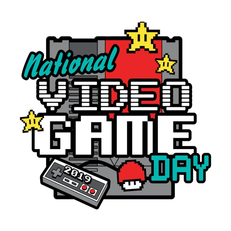 National Video Game Day Men's T-Shirt by Moon Joggers's Artist Shop