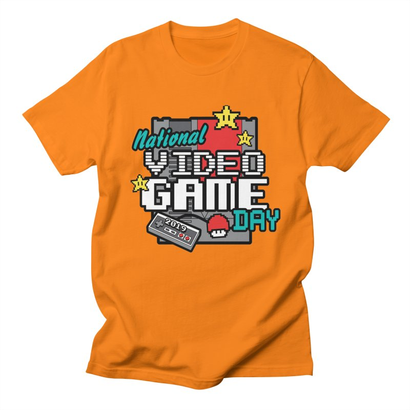 National Video Game Day Women's Regular Unisex T-Shirt by moonjoggers's Artist Shop