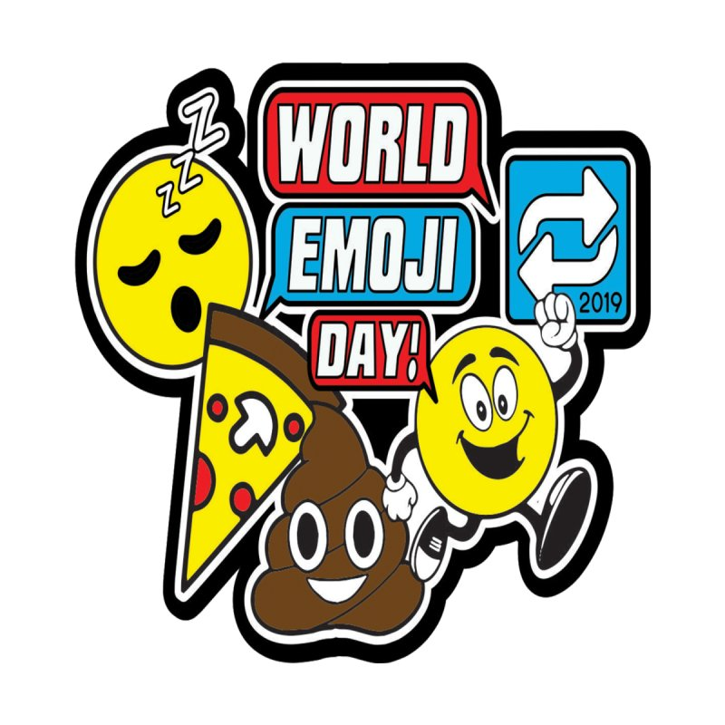 World Emoji Day Men's T-Shirt by Moon Joggers's Artist Shop