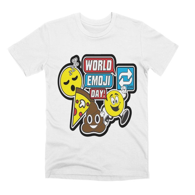 World Emoji Day Men's Premium T-Shirt by moonjoggers's Artist Shop