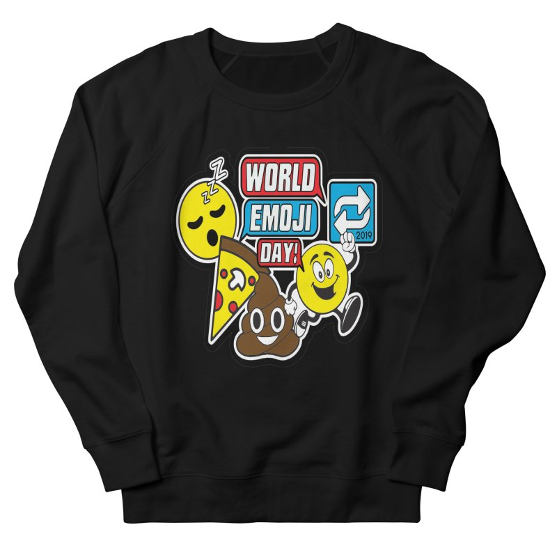 World Emoji Day Men's French Terry Sweatshirt by moonjoggers's Artist Shop