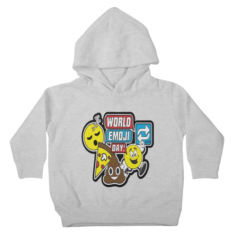 World Emoji Day Kids Toddler Pullover Hoody by moonjoggers's Artist Shop