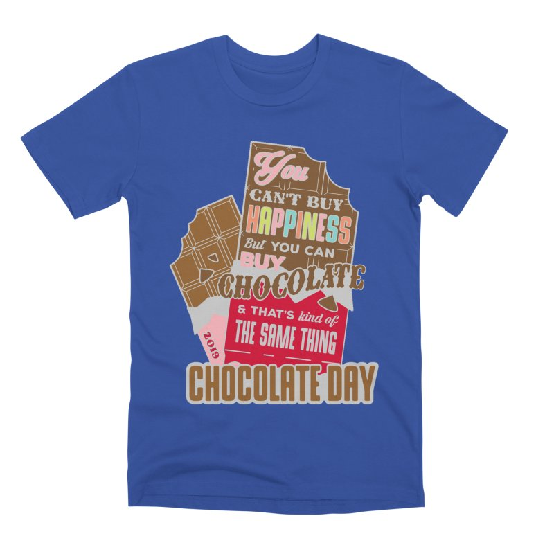 World Chocolate Day Men's Premium T-Shirt by moonjoggers's Artist Shop