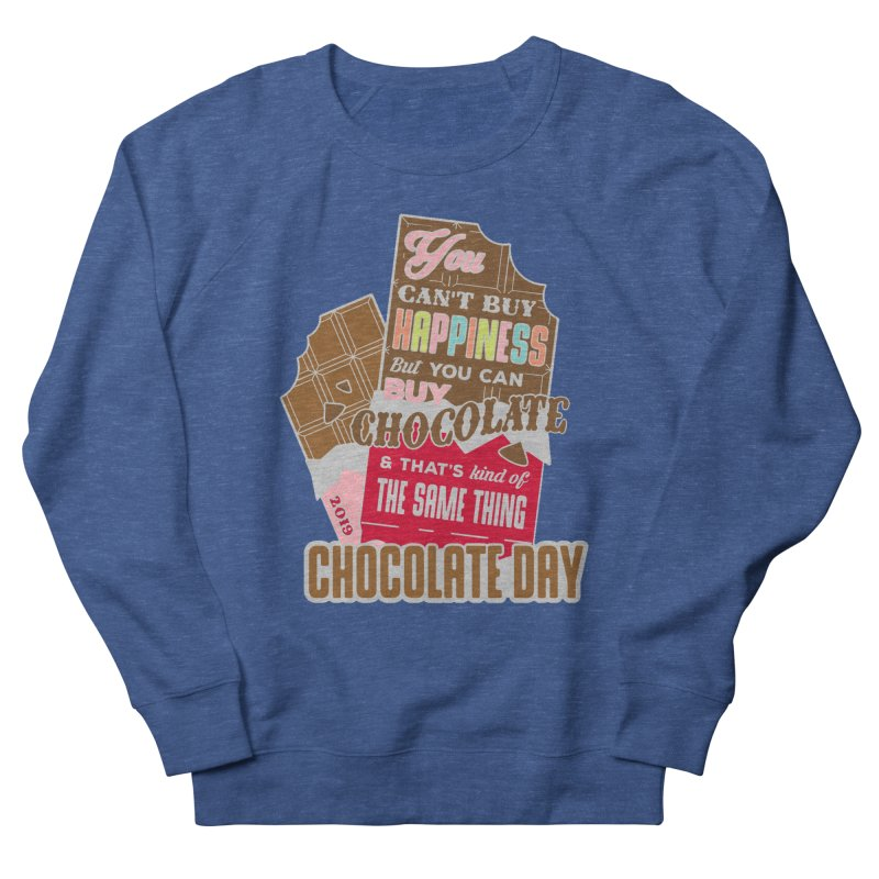 World Chocolate Day Men's French Terry Sweatshirt by moonjoggers's Artist Shop