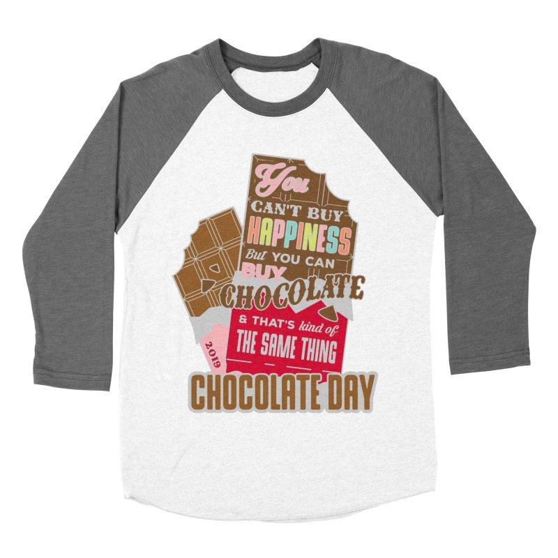 World Chocolate Day Women's Baseball Triblend Longsleeve T-Shirt by moonjoggers's Artist Shop