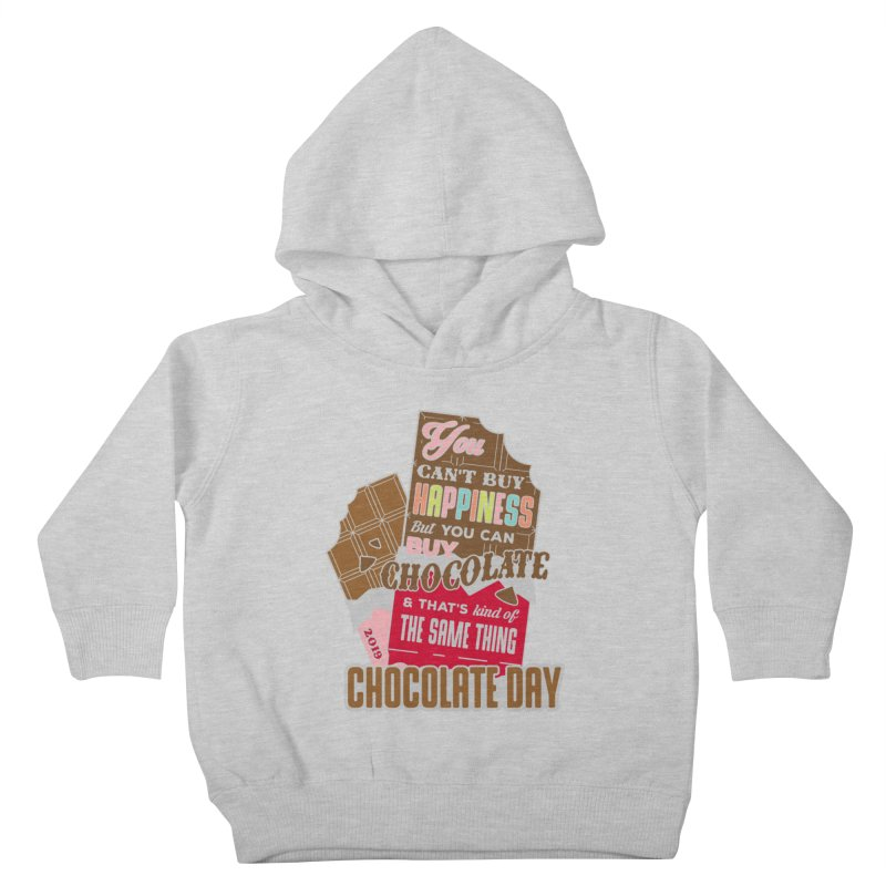 World Chocolate Day Kids Toddler Pullover Hoody by moonjoggers's Artist Shop