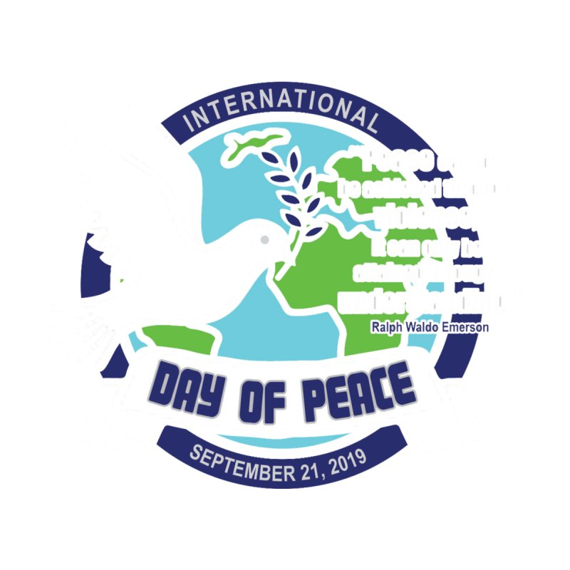 International Day of Peace Men's T-Shirt by Moon Joggers's Artist Shop