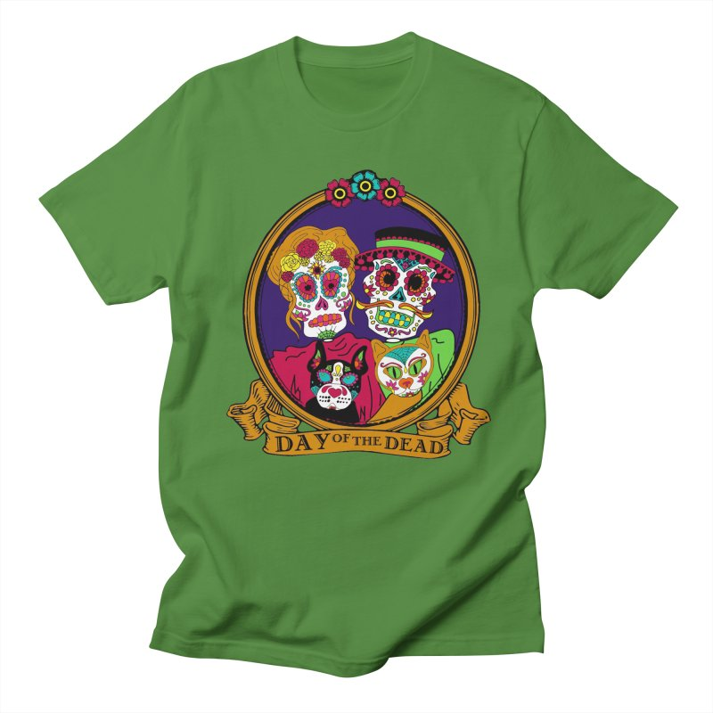 Day of the Dead Men's T-Shirt by Moon Joggers's Artist Shop