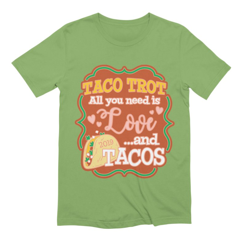 Taco Trot Men's T-Shirt by Moon Joggers's Artist Shop