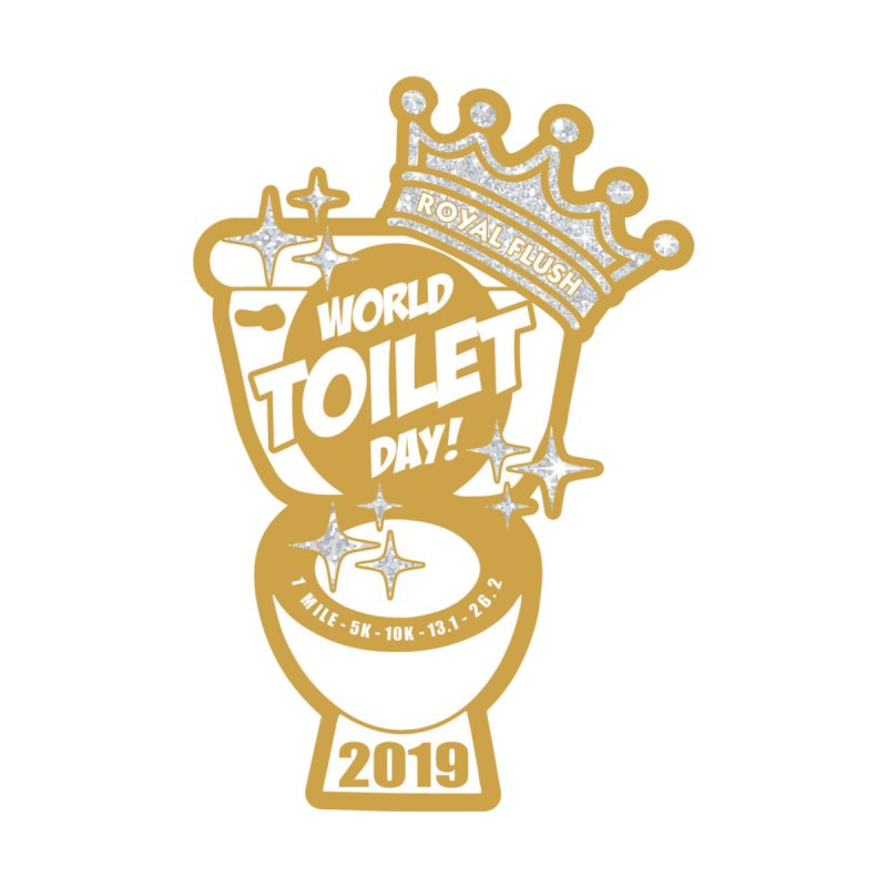 World Toilet Day Men's T-Shirt by Moon Joggers's Artist Shop