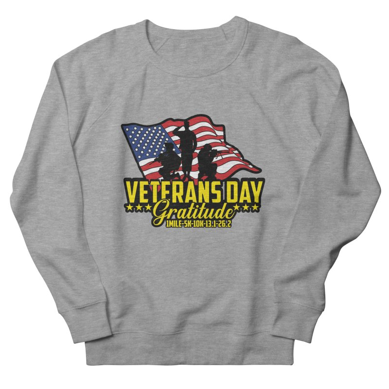 Veteran's Day Gratitude Men's French Terry Sweatshirt by Moon Joggers's Artist Shop