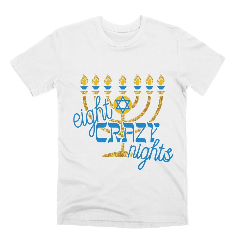 Eight Crazy Nights Men's T-Shirt by Moon Joggers's Artist Shop