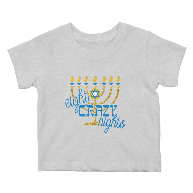 Eight Crazy Nights Kids Baby T-Shirt by moonjoggers's Artist Shop