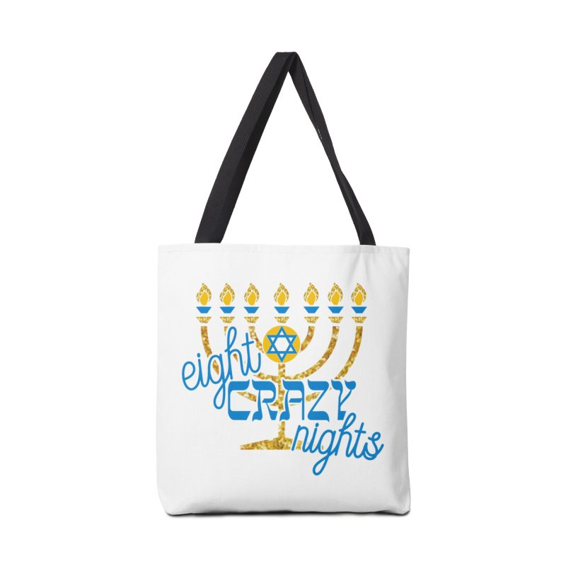 Eight Crazy Nights Accessories Bag by moonjoggers's Artist Shop