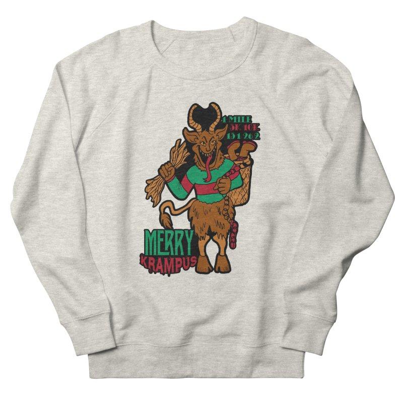Krampus Women's French Terry Sweatshirt by moonjoggers's Artist Shop