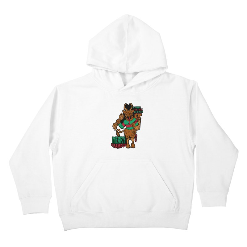 Krampus Kids Pullover Hoody by moonjoggers's Artist Shop