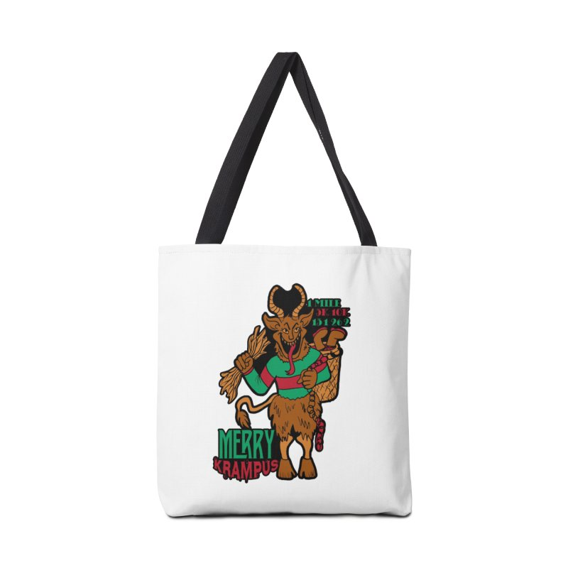 Krampus Accessories Bag by moonjoggers's Artist Shop