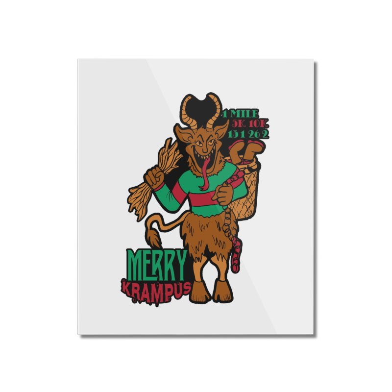 Krampus Home Mounted Acrylic Print by moonjoggers's Artist Shop