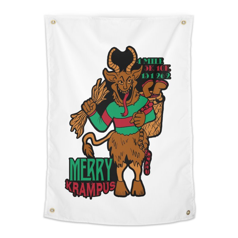 Krampus Home Tapestry by moonjoggers's Artist Shop