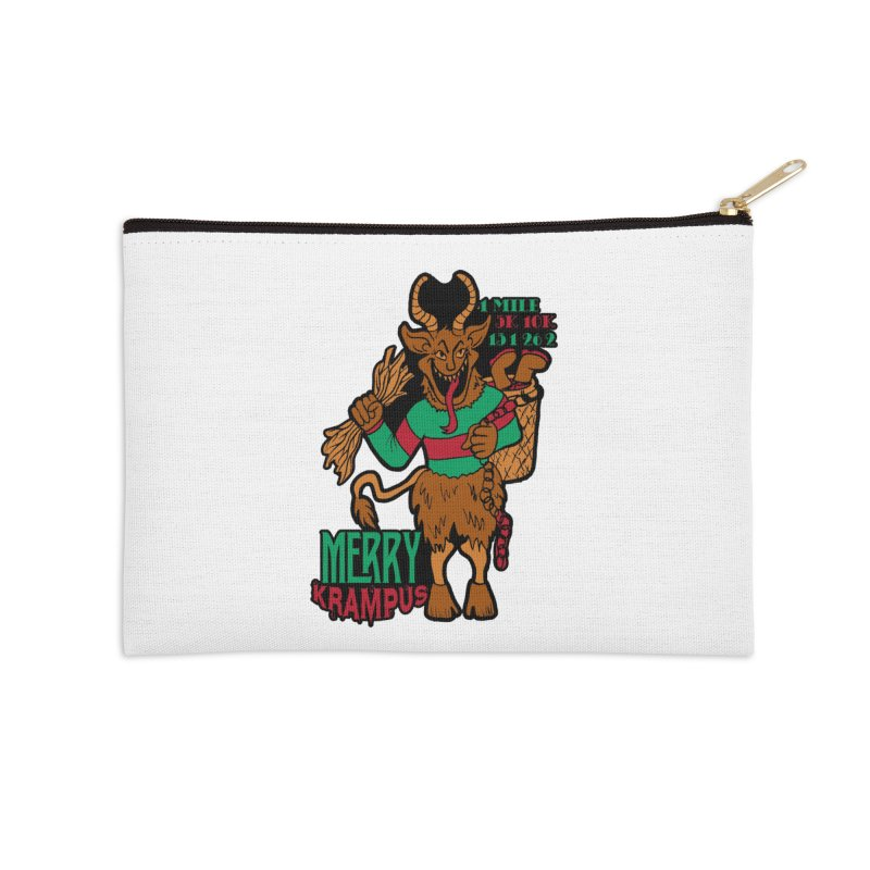 Krampus Accessories Zip Pouch by moonjoggers's Artist Shop