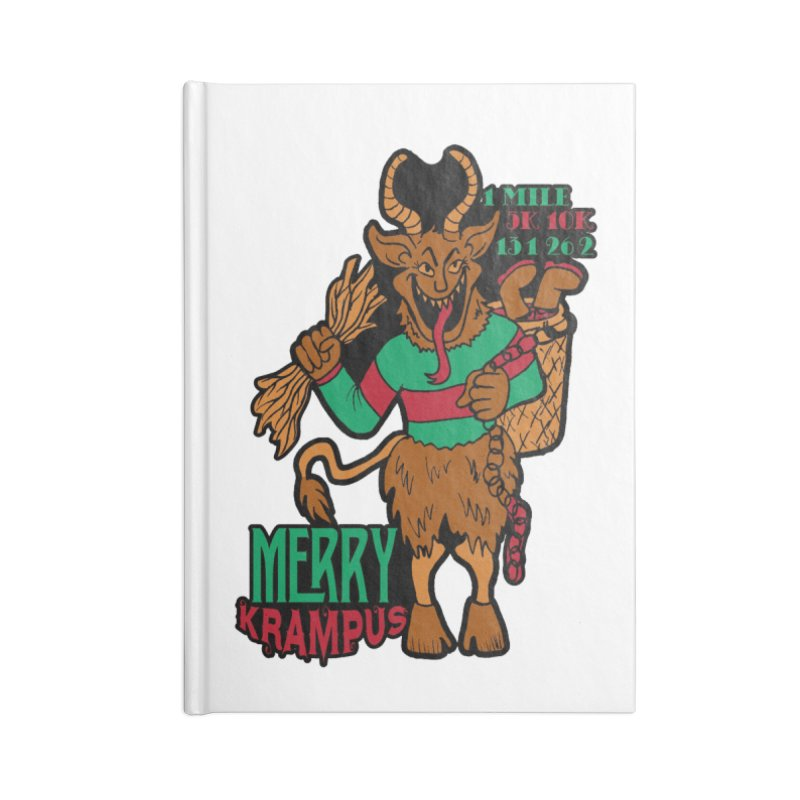 Krampus Accessories Notebook by moonjoggers's Artist Shop
